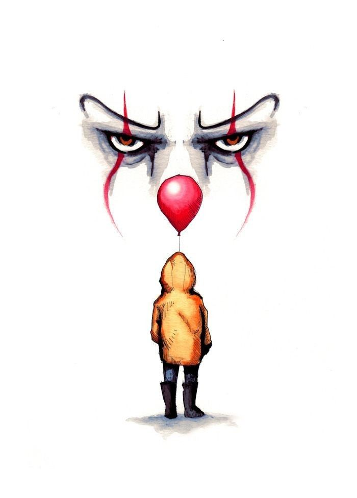 Pin By Paul Mougey On Bring In The Clown With Images Scary