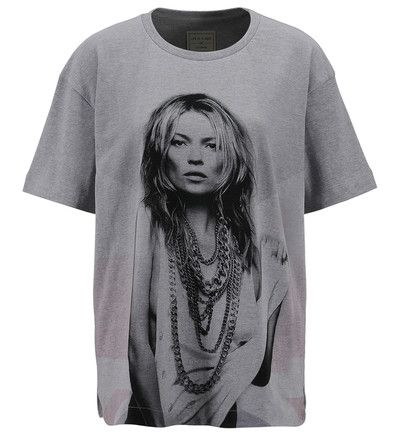 T-shirt Femme Galeries Lafayette promo Tee-shirt ample imprimé Kate Moss Eleven Paris prix promo Galeries Lafayette 40,00 € TTC