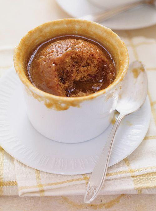 Gâteau pouding au caramel et aux dattes / Note de Rachel : 8/10 - très bon - Gâteau dense et moelleux