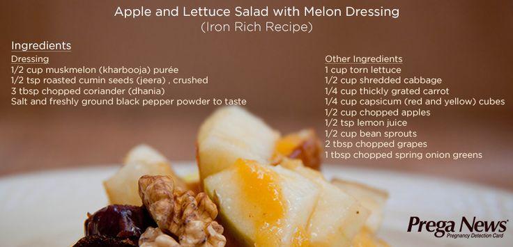 Apple and lettuce salad! #Recipe