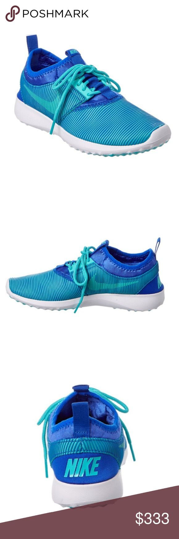 NEWEST NIKE SHOES Authentic NEW IN BOX. Women's size 7.5 NIKES!! Stunning bright blue color! New style selling out Very quickly. Ships asap! USE OFFER BUTTON🎉👍bundle to save more!  NO TRADES❌no pp❌ Nike Shoes Sneakers