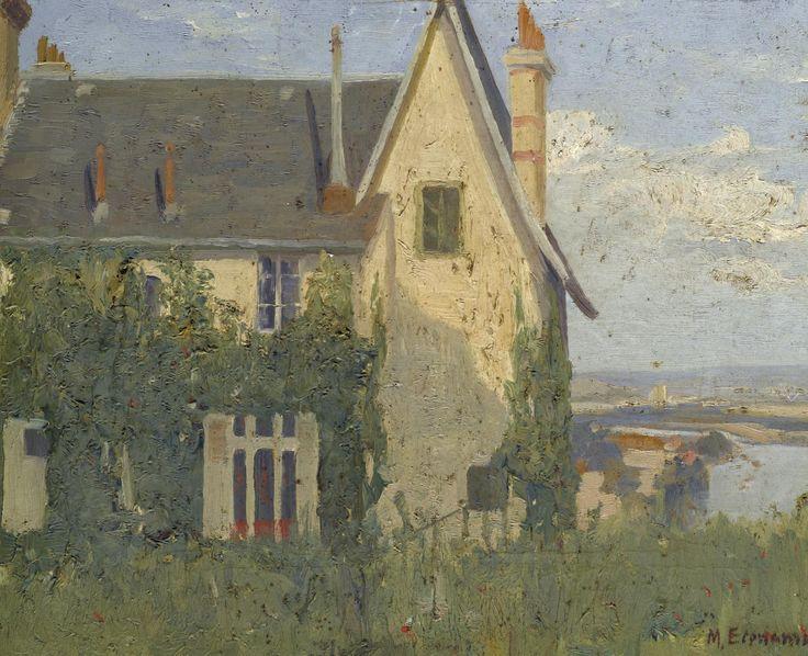 Το σπίτι στην εξοχή (La maison a la campagne), λάδι σε καμβά.