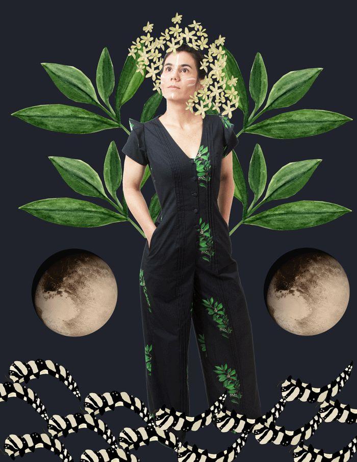 sustainable fashion amazon ecofashion organic cotton coca boho chic ecofriendly vegan gypsy shamanism SS17 dress  spring summer colombia moda sostenible fashion revolution ritual plantas sagradas chaman