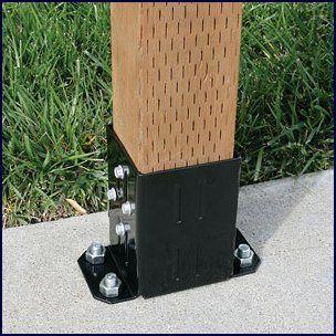 EZ base - Conectores Metálicos para madeira. #jular #jularmadeiras