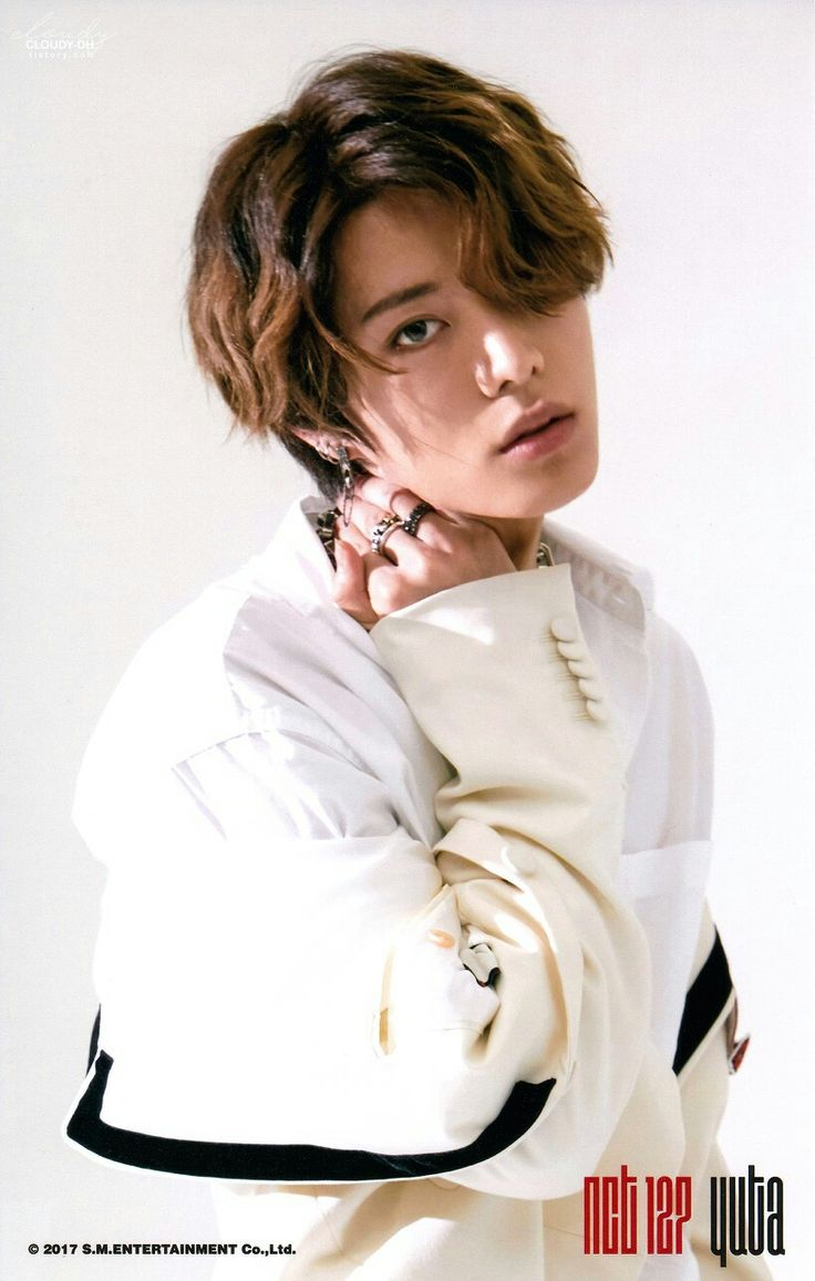 NCT 127  Yuta [ 유타 ] ㅡ CHERRY BOMB Photoset ⓐ version scan by. 흐린