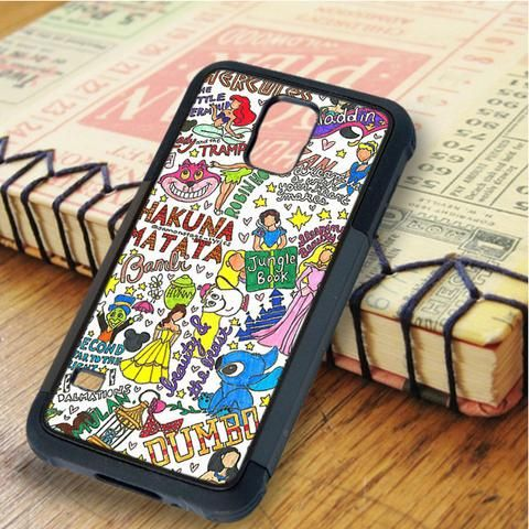 Collage Art Disney All Character Samsung Galaxy S5 Case