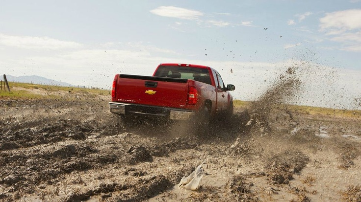 Now that looks like fun in a Chevy Silverado!