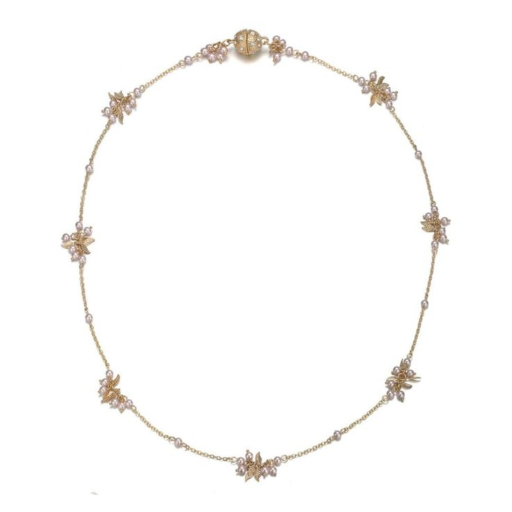 Gold & Honey: Short Necklace by Amrita Sen & Jewels to Jet