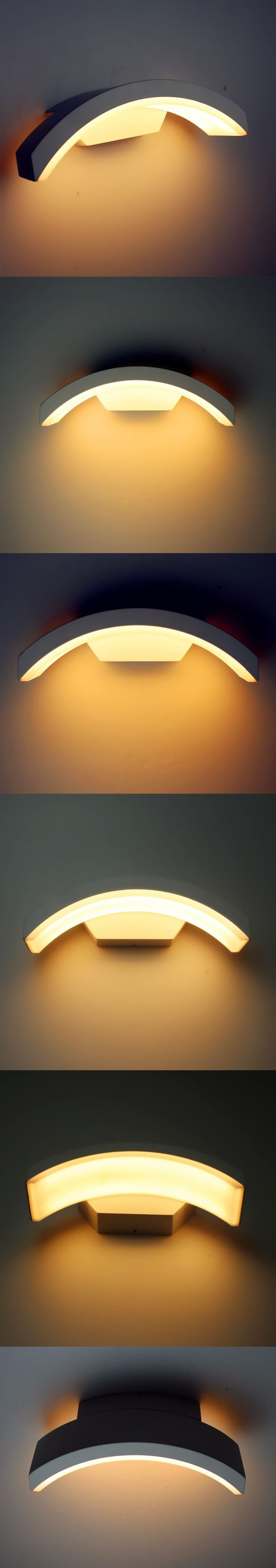 New Modern Led Wall Lamp Wall Lights Led 12W Outdoor Wall Lamps Warm White Home Lighting Sconce Home Decoration Light Fixture  $37.5