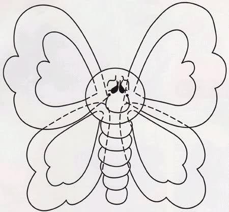 Las 25 mejores ideas sobre mariposas en goma eva en - Como hacer mariposas de goma eva ...