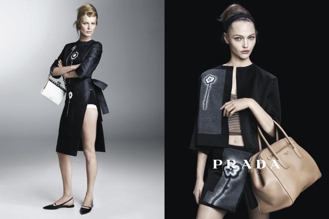 【画像 4/5】PRADA新ウィメンズ広告に11名のモデル起用 スティーヴン・マイゼルが撮影 | Fashionsnap.com