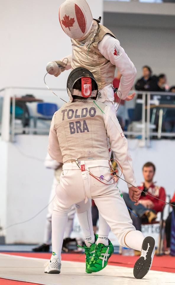 GuilhermeToldo. Silver medal! Pan American Championships 2015 Team Men's foil. Photo: Devin Manky Photography