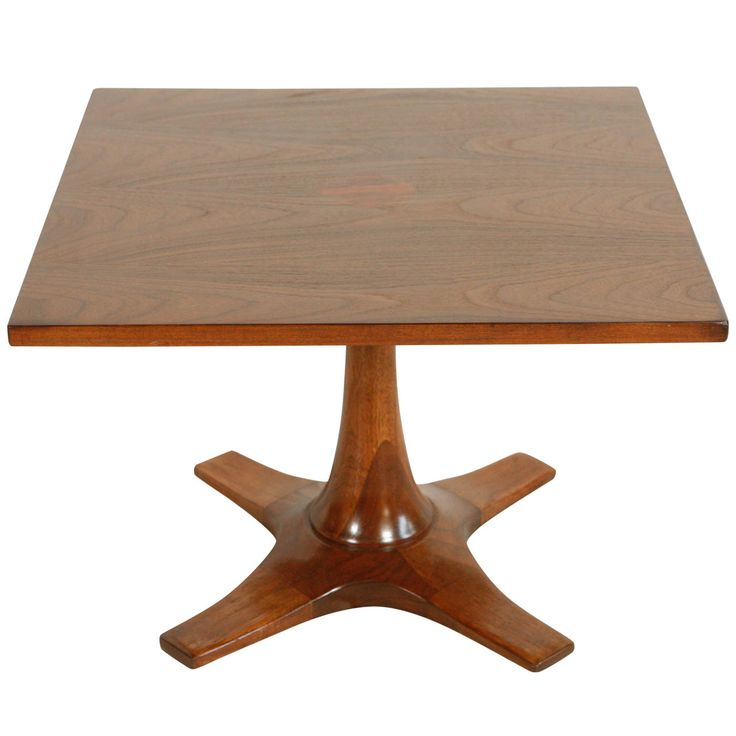 60 Inch Square Pedestal Table: Occasional Tables, Side Tables And Small Tables