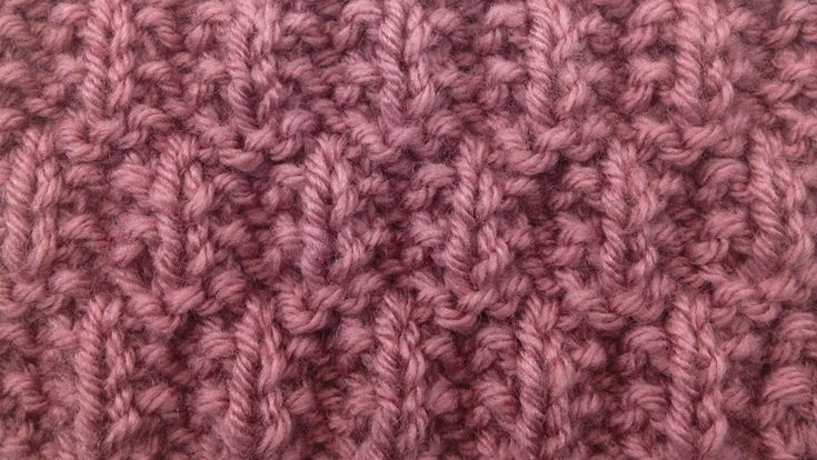 Knitting Rib Stitch For Beginners : Http newstitchaday how to knit the seeded rib check
