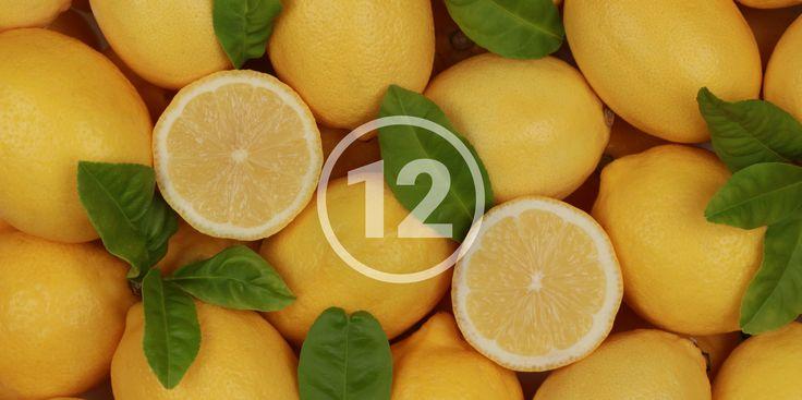 12 хаков с лимоном, которые поправят ваше здоровье - http://lifehacker.ru/2015/06/26/12-hakov-s-limonom/
