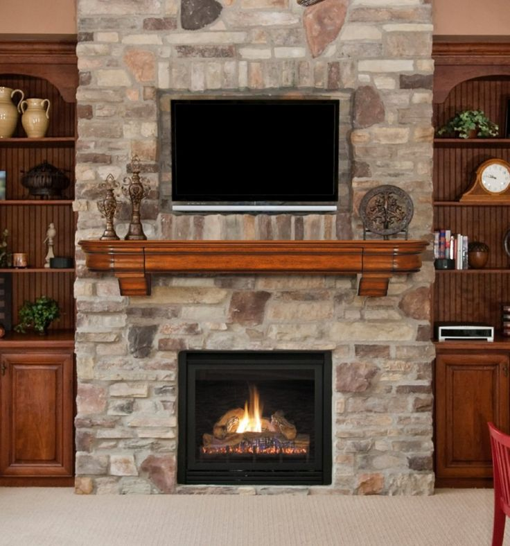 Interior:Apartment Home Design Decorating Living Room Ideas With Natural Stone  Fireplace Mantels With Tv