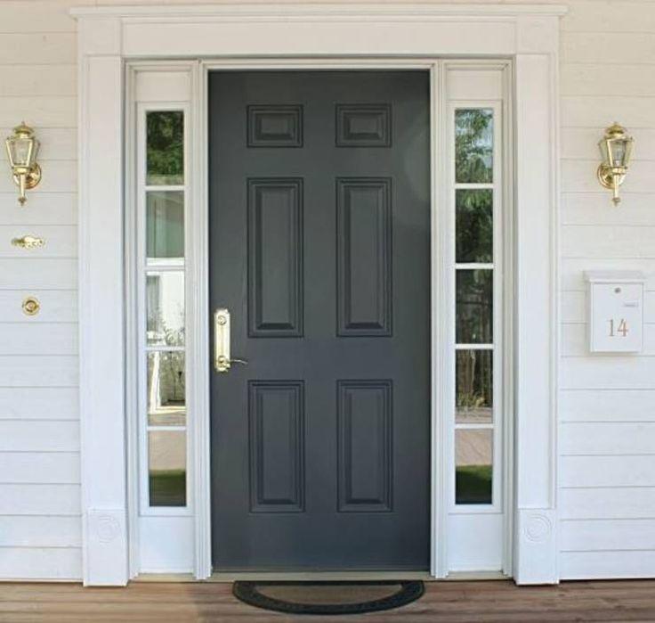 Wohnen wie der Britische Prime Minister in 10 Downing St? Die Architekten von American Dream Homes GmbH kommen zumindest der Eingangtür sehr nahe, aber leider hier mit der falschen Hausnummer ;) #eingangstüren #eingänge #homify