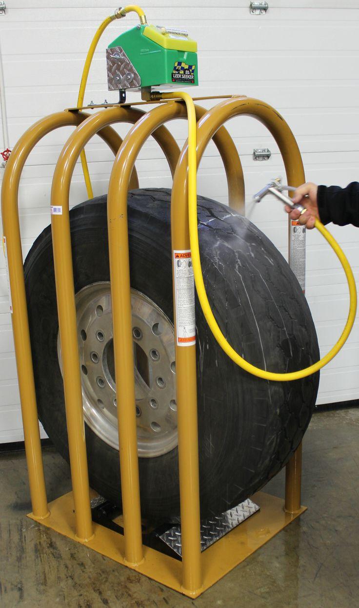 The Safest Tire Leak Detection System ever developed