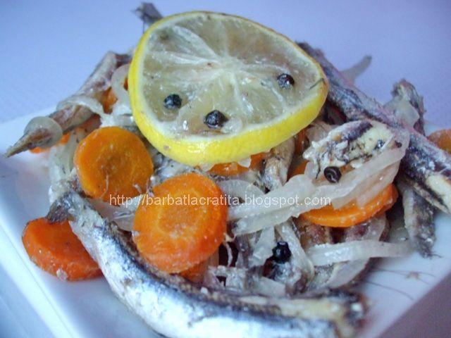 Peste marinat la cuptor