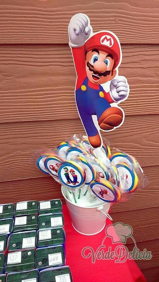 Paletas Mario Bross