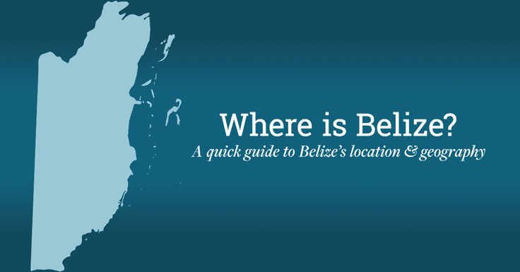 It's a common question, we've all heard it, and now we're here to answer it for you smile emoticon Where is #Belize? Here is where we are: