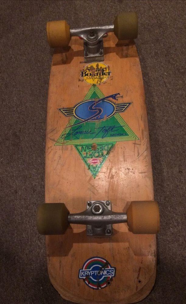 Vintage Skateboard 1979 Sims Lonnie Toft Snub Nose Snake Cons | eBay