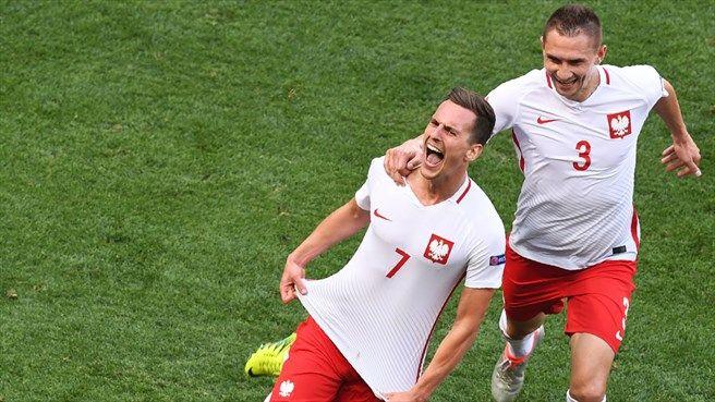 Arkadiusz Milik (POL) - Winning Goal - Poland vs Northern Ireland 1-0 - Group Stage UEFA Euro 2016