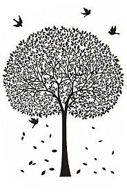 TREE 90X60CM VINYL WALL STICKER