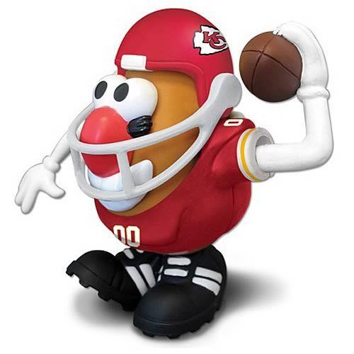 NFL Kansas City Chiefs Mr. Potato Head-Yes Please!! Would look great on my desk @ school!
