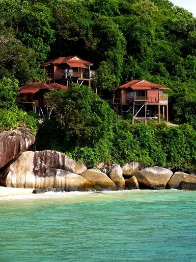 Leuke originele plekken om te overnachten incl tioman island