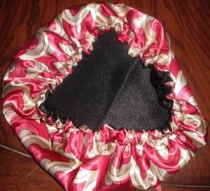 Tutorial for a satin hair bonnet