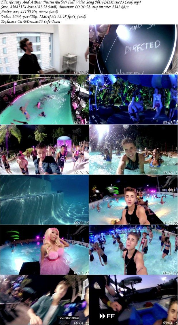 Beauty And A Beat By Justin Bieber Ft Nicki Minaj Full Video Song