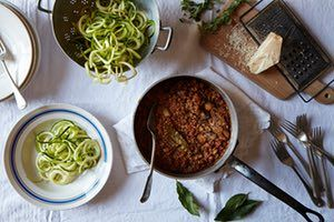 Tom Kerridge's recipe for a low-carb bolognese | A taste of home | Life and style | The Guardian
