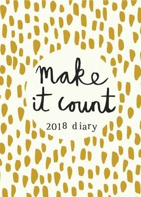 Make It Count Pocket Diary 2018