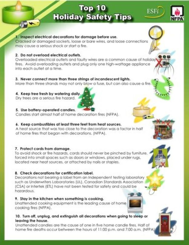 1000+ images about Holiday safety Tips on Pinterest ...