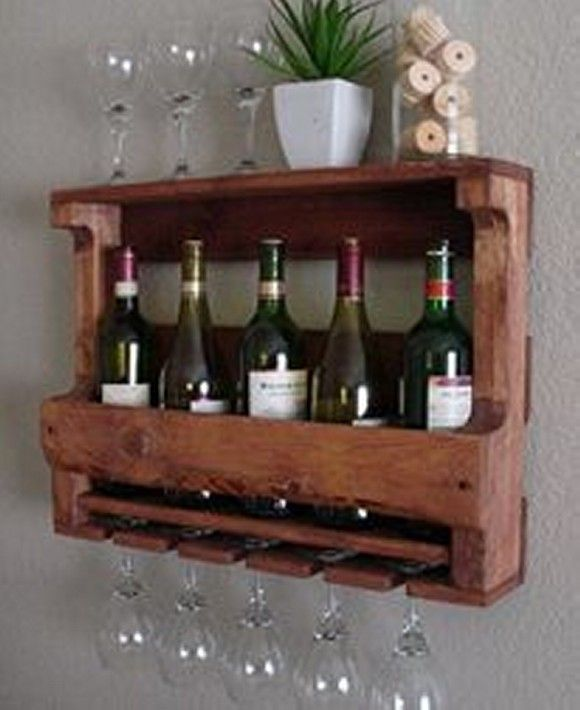 Best 25 pallet wine racks ideas on pinterest for How to make a wine rack out of pallet wood