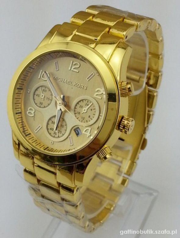 Zegarek Michael Kors złoty   Cena: 80,00 zł  #nowyzegarek #eleganckizegarekmichaelkors #michaelkorszegarek