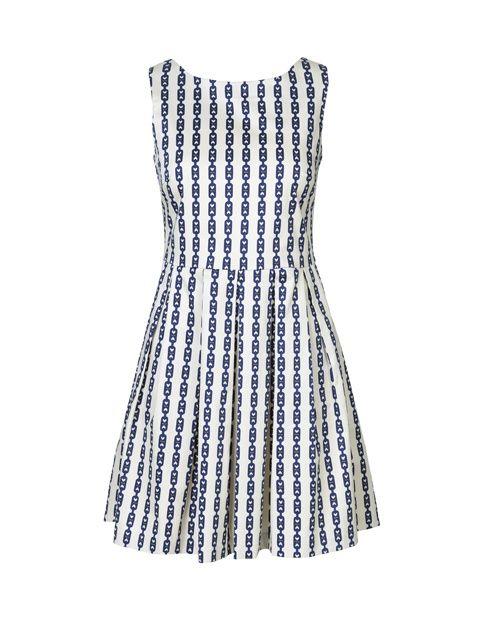 Dress 4911-412, Blue