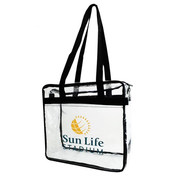38 best Transparent Vinyl Tote Bags with your Company Logo images ...