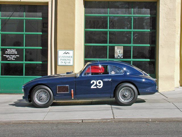 """1950 Aston Martin DB2 - No. 13 of 50 produced with the triple grill and """"washboard"""" side vents.  Formally a Sebring Racer.  SOLD"""