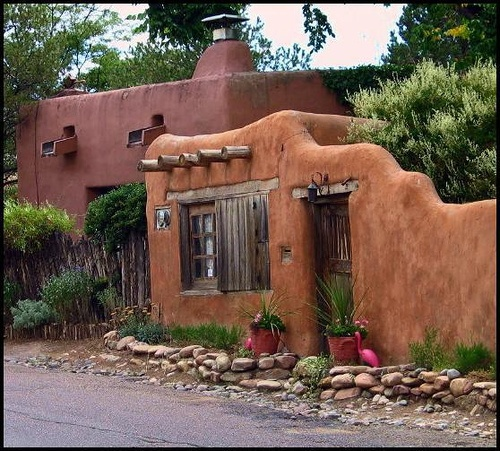 Adobe house small houses pinterest for Adobe home builders