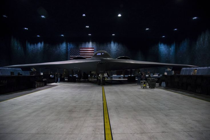B-2 bomber in the world's largest Anechoic chamber at Edwards AFB CA [5169  3446]