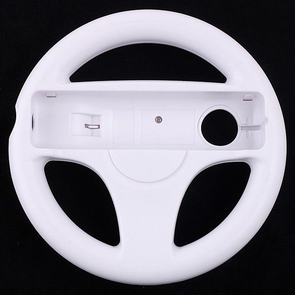 white Steering Wheel for Wii Mario Kart - Tomtop.com