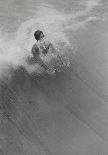 La Vague, c. 1932 Karoly Escher. This is going to be me later trying to body board/surf haha.