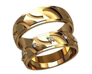 Ornament Wedding Bands Men Wedding Band Women Diamond Wedding Ring Gold Wedding…