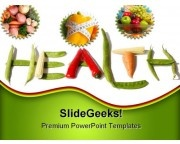 Food Health PowerPoint Backgrounds And Templates 1210