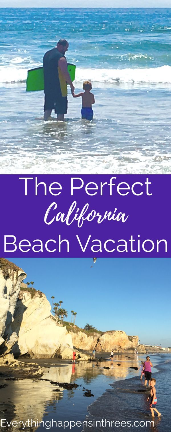 California is known for its beaches and perfect weather. Enjoy a perfect California vacation with kids at Pismo Beach. #California #beaches #beachvacation #californiavacation