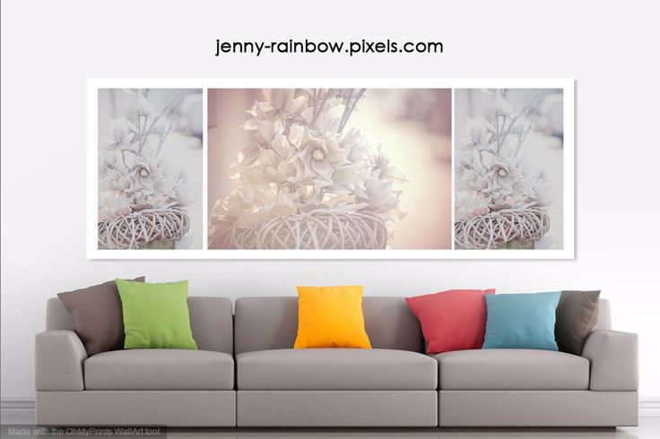 SILVER VINTAGE DREAM. TRIPTYCH by JENNY RAINBOW. Available in the Big Panoramic size: 96.000 inch x 35.000 inch. Perfect use in home design, for spa center, for psychotherapeutic practices, for hotel lobby and also for the meditation centers and even in the offices. #JennyRainbowFineArtPhotography #PastelColors #Triptych #WallArt #HomeDecorIdeas
