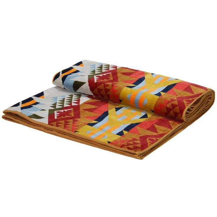 Amazon.co.jp: PENDLETON ペンドルトン Oversized Jacquard Towels ジャガードバスタオル ブランケット 毛布…