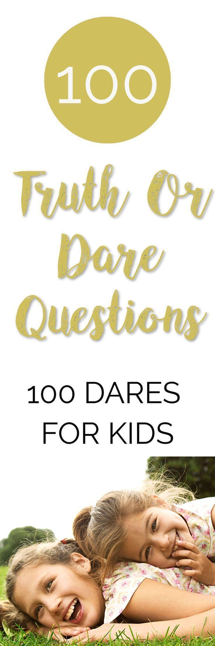 Wahrheit Oder Pflicht Fragen Für Kinder